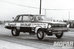 Vintage Drag Racing - Shirley Shahan