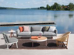 Boma Collection by Kettal, available at the Home Resource furniture store Sarasota Florida Outdoor Sofa, Outdoor Garden Furniture, Outdoor Living, Porch And Terrace, Resource Furniture, Small Outdoor Spaces, Furniture Design, Interior Design, Home Decor