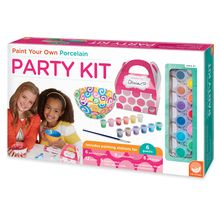 Paint Your Own Porcelain Party Kit ($39.95)