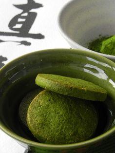 Galletas japonesas de té verde (té verde matcha) | CocotteMinute