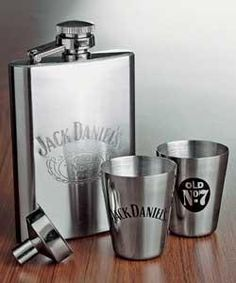 Jack Daniel's hip flask