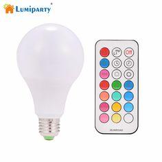 10pcs Led Bulb R80 10w E27 B22 Rgbw Led Bulb Color Light Rgb White Dimmable Led Lamp Ac 85v-265v With Remote Controller Dimmer Led Bulbs & Tubes Lights & Lighting