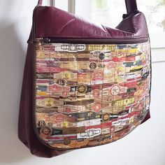 My husband wanted a man purse decorated with cigar belts. Man Purse, Cigar, Messenger Bag, Belts, Husband, Purses, Sewing, Instagram Posts, Diy