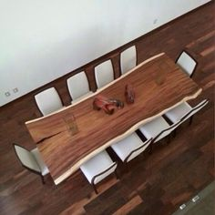 Kijiji Raw Wood Dining Room Table