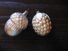 Vintage Glass Ornaments