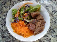 Eu que fiz!: Almoço atrasado/rápido/com fome  #paleo  #lowcarb  #comidasaudavel  #lchf  #euquefiz