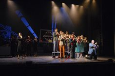 """costume """"guys and dolls"""" - Google Search Stage Set Design, Guys And Dolls, Costumes, Google Search, Concert, Dress Up Clothes, Fancy Dress, Concerts, Men's Costumes"""