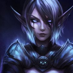 Death Knight by aliquence on DeviantArt Fantasy Character Design, Character Design Inspiration, Character Art, Elf Characters, Fantasy Characters, Fantasy Women, Fantasy Girl, Zelda Cosplay, Death Knight