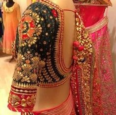 Image result for indian gota work saree borders