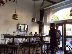 Manchego Spanish Tapas restaurant in Santa Monica.  Still counts..
