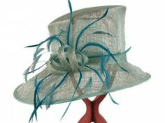 Kate Hat - Hat Borrower - Hat Hire Gloucestershire Love Hat, Aqua Color, The Crown, Bows, Turquoise, Detail, Feathers, Products, Fashion