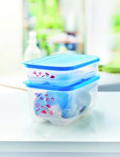 Un frigoripero sempre organizzato, ordinato e pulito con Tupperware. Semprefresco da 1,8 L e da 4,4 L