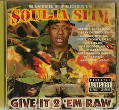 Where are all my No Limit Records fans? Do you remember Soulja Slim? What are your thoughts on his Give It 2 Em' Raw album? Check out my thoughts as Soulja Slim Released His No Limit Records Debut 20 Years Ago Today Rap Albums, Hip Hop Albums, Best Albums, Music Albums, Love And Hip, Love N Hip Hop, Best Album Art, Silkk The Shocker, Southern Hip Hop