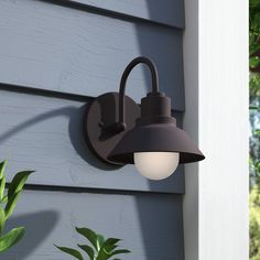 Outdoor Wall Lighting & Barn Lights You'll Love in 2019 Outdoor Barn Lighting, Outdoor Ceiling Fans, Outdoor Sconces, Outdoor Wall Lantern, Exterior Lighting, Outdoor Walls, Light Beam, Wall Sconce Lighting, Wall Sconces