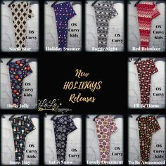 392e8a26a6724 New My LaLa Leggings Releases. Please Check Back Often #leggings #halloween  #holiday