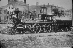 NHD&A #1. This 4-4-0 American-type, coal-burning steam engine was produced by Rogers Locomotive Works and was released on February 13, 1871.
