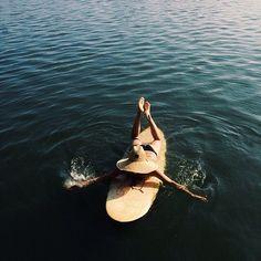 Escape to the sea