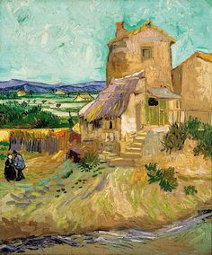 Vincent van Gogh -  La Maison de la Crau (The Old Mill) - 1888