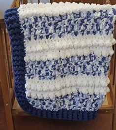 Easy Blue Clouds Baby Blanket – Free Pattern - A More Crafty Life Crochet Baby Blanket Free Pattern, Crochet For Beginners Blanket, Baby Afghan Crochet, Afghan Crochet Patterns, Baby Afghans, Crochet Blankets, Baby Patterns, Crochet Stitches, Crochet Hooks