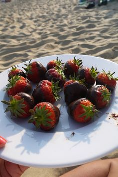 Chocolate dipped Strawberries :: The Southerner Chocolate Dipped Strawberries, Strawberry Dip, Lifestyle Blog, Dips, Cherry, Fruit, Eat, Food, Sauces
