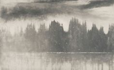 Norman Ackroyd Loch Awe in Winter 2006