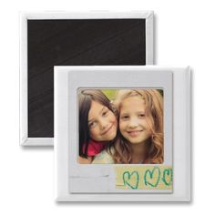 cool playful magnet.  so easy to customize with your own instagram photos.
