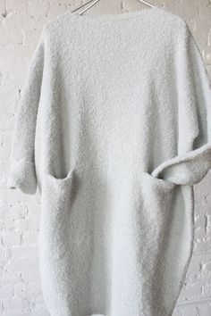Lauren Manoogian Trapezoid Dress Overcast