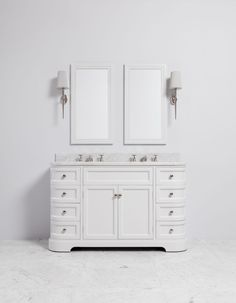 Porter painted vanity units are crafted for beauty, utility and durability. Our painted bathroom vanity units provide an elegant solution for every bathroom