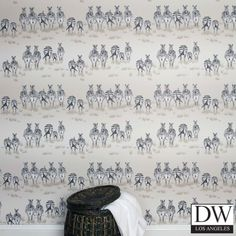Dazzle Zebra Wallpaper - 2 [JTA-48159A] Home | DesignerWallcoverings.com | Luxury Wallpaper | @DW_LosAngeles | #Custom #Wallpaper #Wallcovering #Interiors