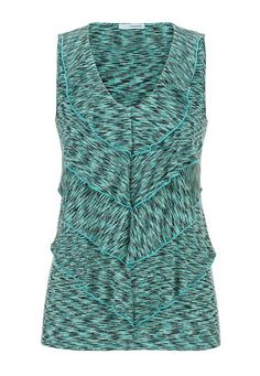 spacedye tiered front tank (original price, $26) available at #Maurices