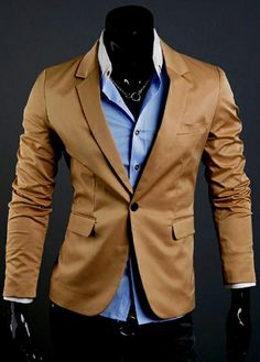 Men Work Essential One Button Fly Suit Khaki http://www.martofchina.com/men-work-essential-one-button-fly-suit-khaki-g93178.html?lkid=160- For more amazing finds and inspiration visit us at http://www.brides-book.com
