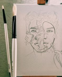 how to draw comics Pencil Art Drawings, Art Sketches, Desenhos One Direction, Shawn Mendes Album, Arte Sketchbook, Sketchbook Ideas, Drawing Journal, Paint Brands, Celebrity Drawings