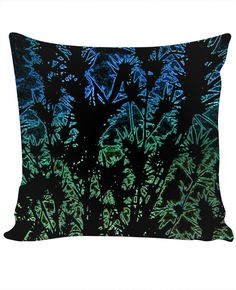 Neon Grow Custom Couch Pillow