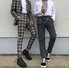 Trendy Moda Hombre Hipster Casual 56 Ideas - Fashion Tutorial and Ideas Fashion Mode, Korean Fashion, Fashion Outfits, Retro Fashion Mens, Mens Grunge Fashion, Classy Mens Fashion, Grunge Men, Retro Men, Mom Fashion