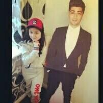 Safaa malik ( zayn maliks little sister pinned this and said this: When I miss him :( ADORABLE!!!