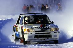 Ari Vatanen Rally Sweden 1985