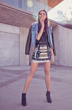 Blank nyc Denim + Leather jacket. Nordstrom.