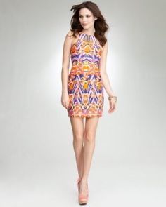 3. Print Cage Back Dress - bebe Addiction. Ready for daytime sights...  #bebe #wishesanddreams