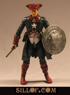 Steampunk Captain America :D