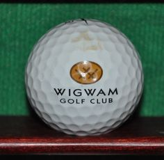 Wigwam Golf Club Logo Golf Ball. Phoenix Arizona. Nike One Tour.
