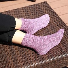 2019 Fashion 1 Pair 6 Colors Autumn And Winter Thickening Women Plush Love Heart Socks Coral Fleece Towel Socks Floor Socks Making Things Convenient For The People Women's Socks & Hosiery