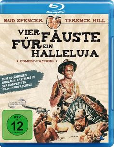 Vier Fäuste für ein Halleluja 1982er Kino-Comedy-Fassung Blu-ray: Amazon.de: Bud Spencer, Terence Hill, Jessica Dublin, Harry Jr. Carey, E. B. Clucher: DVD & Blu-ray