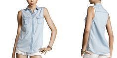 Selena Denim Top - RM65