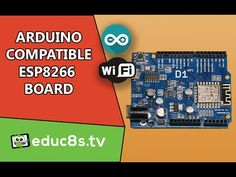 Arduino Tutorial: First look at the WeMos D1 Arduino compatible ESP8266 ...