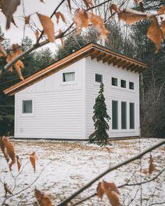 Tiny Houses For Rent, Best Tiny House, Tiny House Cabin, Tiny House Living, Tiny House Plans, Tiny House Design, House Fan, Tiny House Movement, Green Mountain