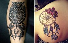 100 Fotos de Tatuagens Filtro dos Sonhos (As mais lindas!)