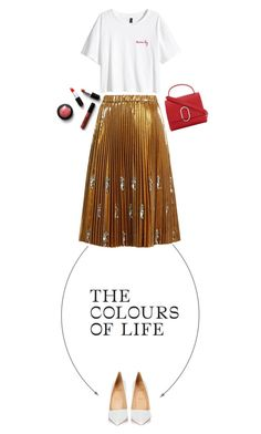 """""""The colours of life"""" by fashionableforeign ❤ liked on Polyvore featuring N°21, Christian Louboutin, H&M and 3.1 Phillip Lim"""