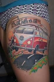 volkswagen bus tattoo - Google Search