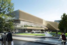 Concurso Biblioteca Central de Helsinki, propuesta