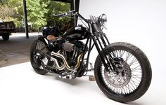 Bobber by Wonder Bikes...my favorite kind of bike, a Bobber :D